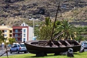Schiff an Land - Tazarcorte