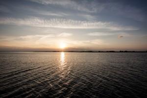 jeden Tag und noch möglichst lange - Sonnenuntergang Limfjord