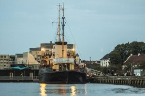 Abendstimmung im Aalborger Hafen