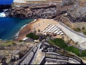 Weißer Sandstrand - Abama Beach
