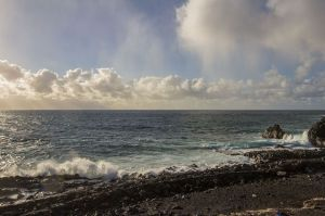 Wolken und Wellen