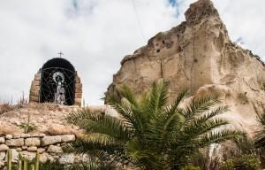 El Puertito - weißer Fels