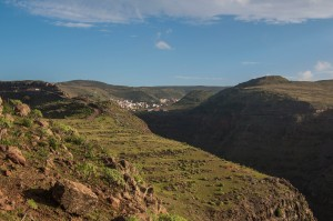 hoch über dem Valle Gran Rey