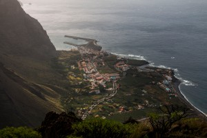 Blick auf die Küste im Valle Gran Rey