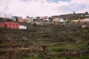 El Cercado - Dorf über dem Valle Gran Rey - 1030m