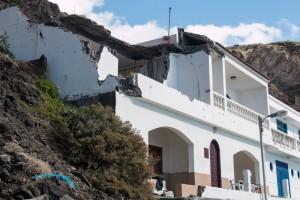 Altes Haus am Strand von Alojera