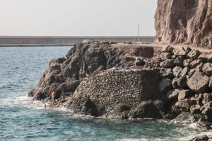 Badefreude am Playa de Argaga
