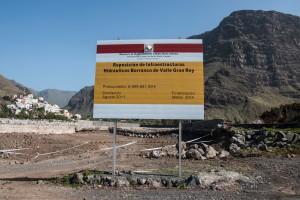 Valle Gran Rey - Baumaßnahmen: ehrgeizige Straßenprojekte?