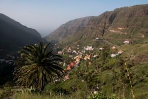 Blick auf Lomo del Balo - Valle Gran Rey