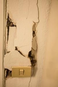 Kleiner Zwischenfall - Wanddurchbruch