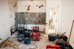 Baustelle Küche