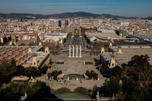 Kunstmuseum mit Plaza Espana