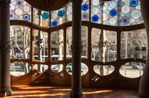 Casa Batlló - Fensterfront