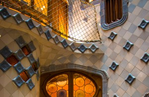 Casa Batlló - Lichthof