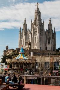 Tibidabo mit Kirche