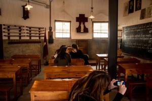 Sagrada Familia - Gaudi - Schulraum
