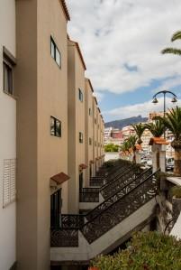 Treppenaufgänge in Puerto de Santiago