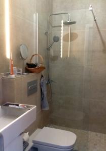..auch ohne Oswaldo endlich ein neues Bad