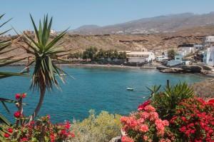 Blick auf die Bucht - el Puertito