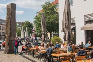 Wetter für Biergarten und Straßencafé