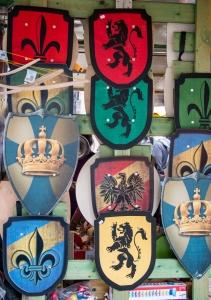 Wappen auf dem Münsterplatz