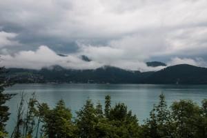 Wolken über dem Wolfgangsee