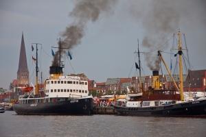 Eisbrecher Stettin im Rostocker Stadthafen