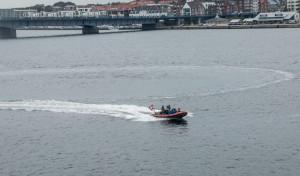 eine Runde mit dem Schlauchboot durch den Stadthafen - umsonst