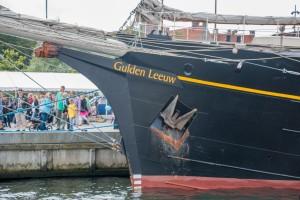 Gulden Leeuw Country of registration: The Netherlands Rig: Gaff Schooner 3 Year launched: 1937 Crew: 84 www.gulden-leeuw.nl