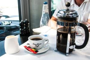 ein Kaffee rundet das Erlebnis ab