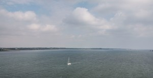 Blick von der Sallingsundbrücke