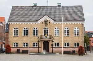 Schmucke Häuser in Nyköbing