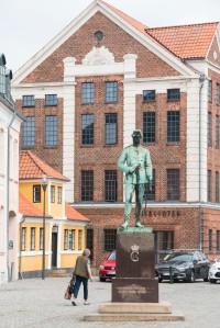 Bibliothek und Denkmal