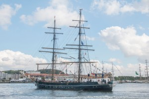 Roald Amundsen Country of registration: Germany Rig: Brig Year launched: 1952 Crew: 48 www.sailtraining.de