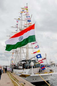 Tarangini Country of registration: India Rig: Barque 3 Year launched: 1997 Crew: 79