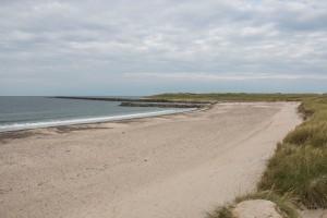 Strand bei Agger - etwas südlich bei Thyboroen mündet der Limfjord in die Nordsee