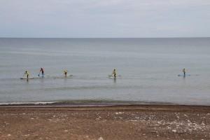 Klitmoeller - beliebter Ort für Surfer und Wellenbewegte - das Hawai Dänemarks