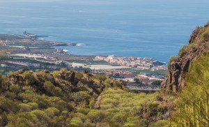 Blick auf Puerto de Santiago