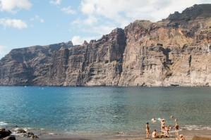 Felsen und Strand