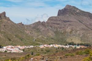 Santiago del Teide und Straße nach Masca