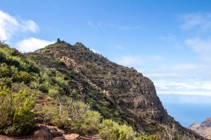 Blick auf den Pico Verte - Kleiner Gala