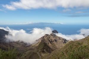 Tenogipfel und Wolken
