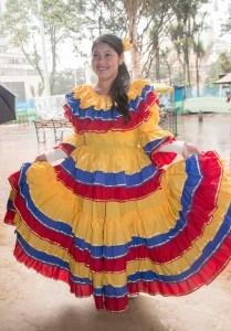 die Farben von Kolumbien