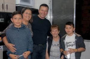 unser Busfahrer mit Familie