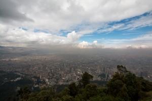 Bogota vom Monteseratte