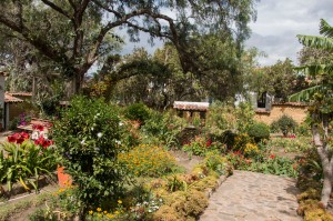Villa de Leyva - Garten des Museums