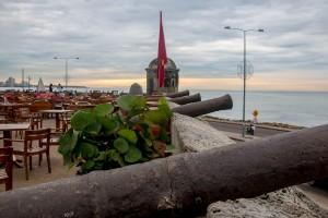 Cartagena - Stadtmauer Abendstimmung