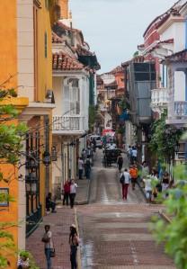 Cartagena - Straße im Zentrum
