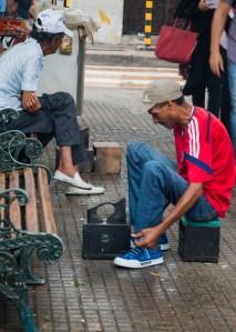 Cartagena - Schuhputzer