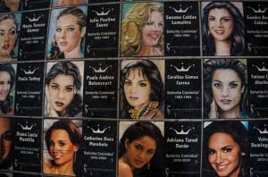 Cartagena - Schönheitsköniginnen
